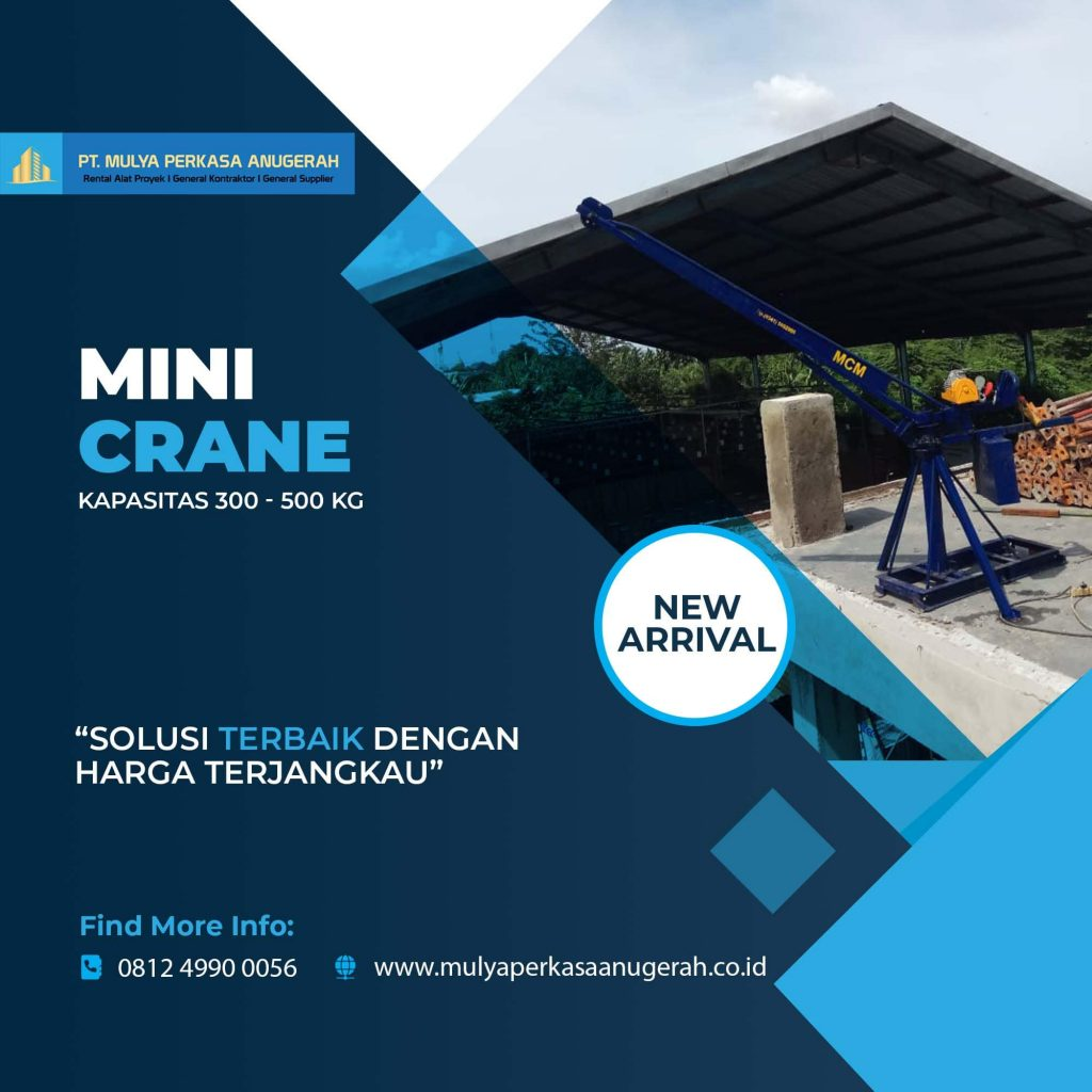 Sewa Mini Crane Indonesia