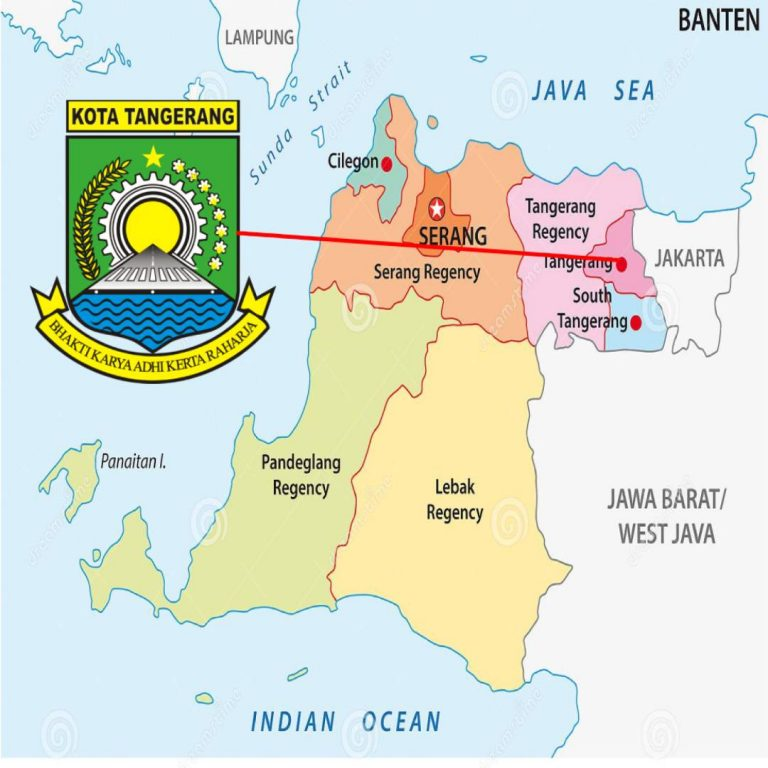 tangerang-administrative-political-vector-map-indones