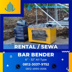 bar bender - bar cutter tegal