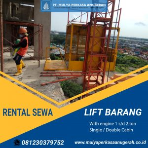 Sewa Lift Barang - Alat Proyek Denpasar, Bali